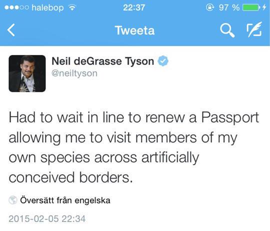 Mr. Tyson On Passports