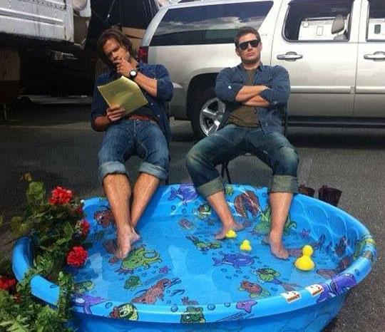 cool-Supernatural-brothers-feet-pool