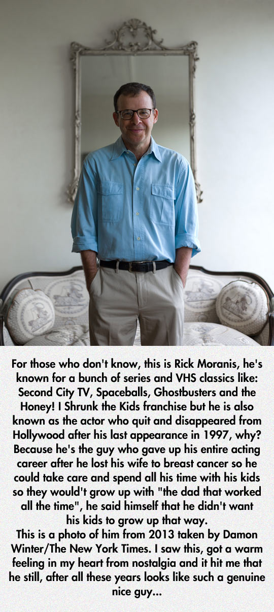 Remember Rick Moranis?