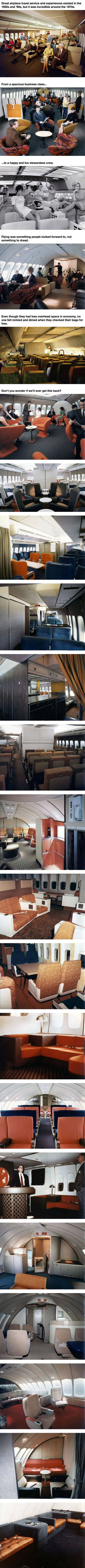 How Airplane Travel Was In The 1970s