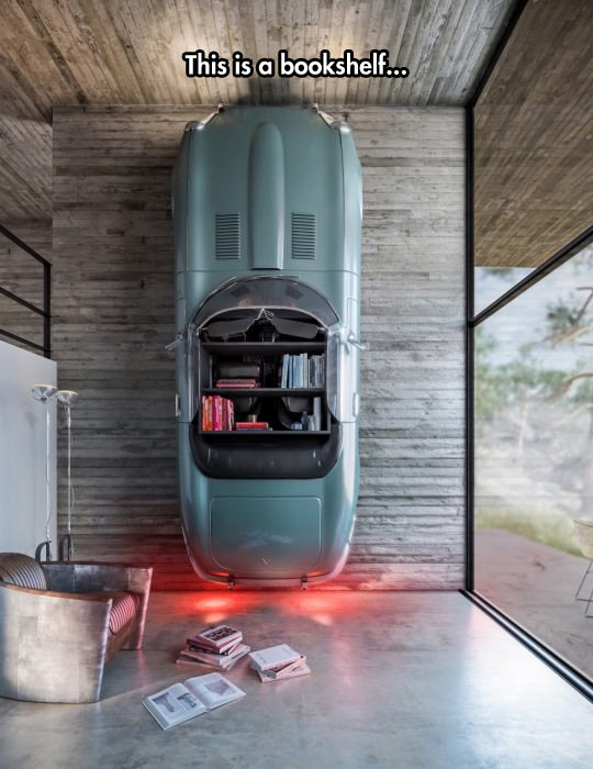 cool-book-shelf-car-house