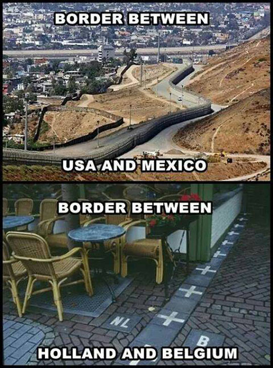 Not All Borders Are The Same