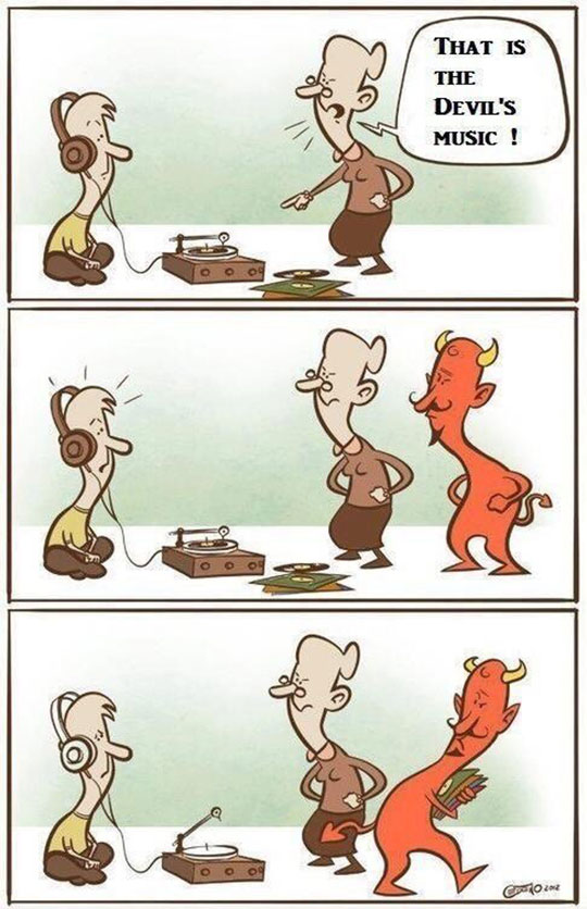 cool-cartoon-Devil-music-piracy