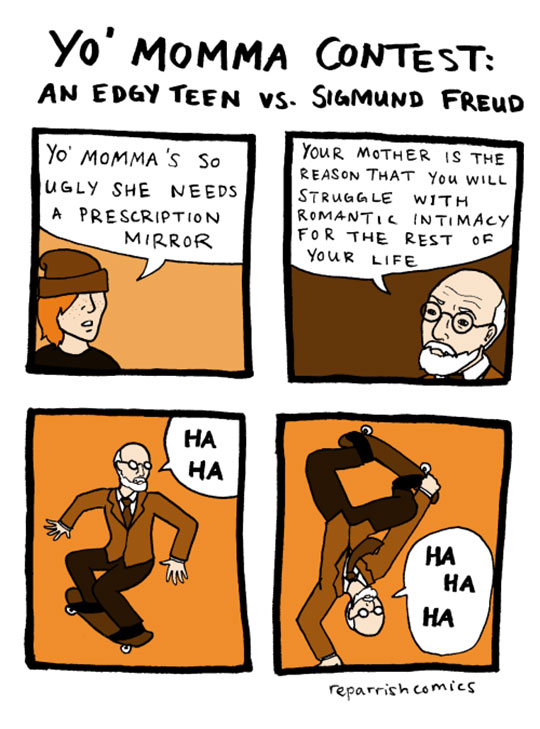 Edgy Teen Vs. Freud