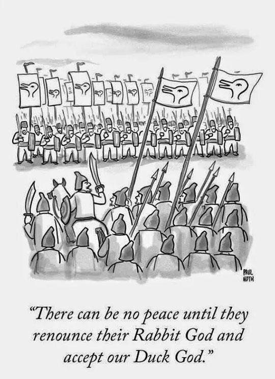 Every Single Religious War Ever