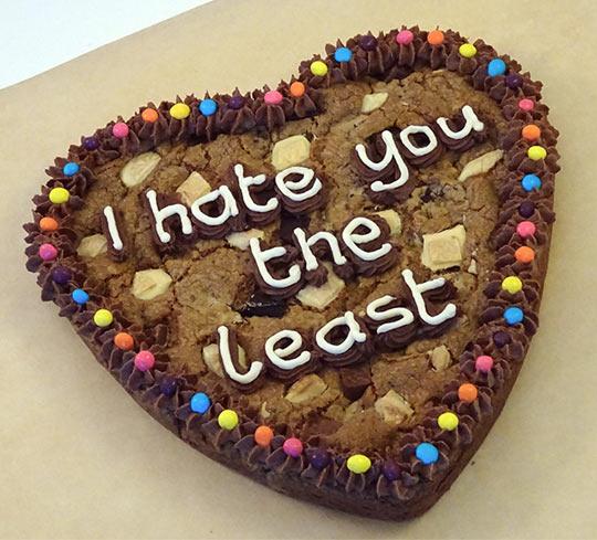 Romantic Dessert Message