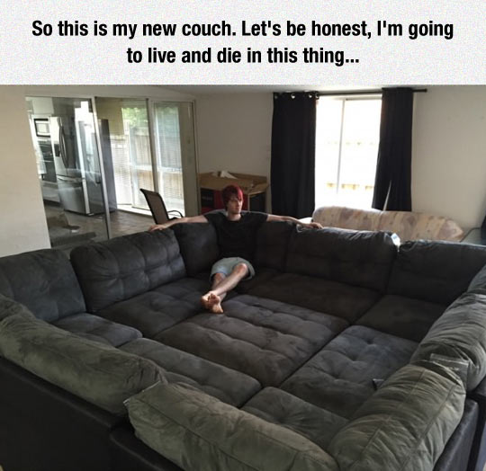 This Is The Couch Of My Dreams