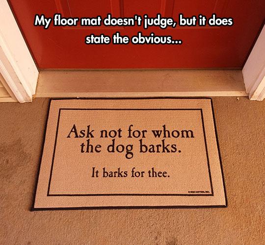 Perfect Door Mat