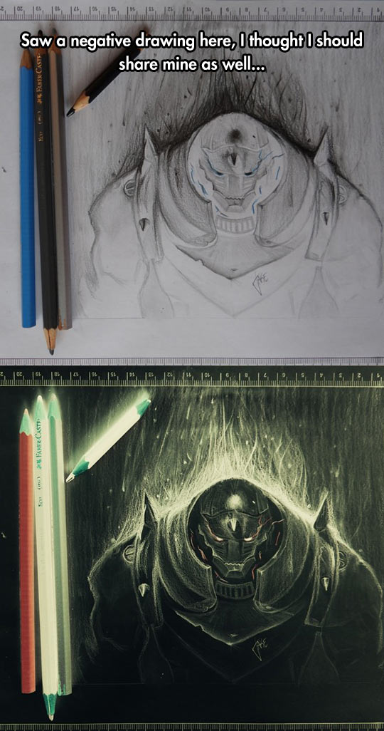 cool-drawing-negative-Fullmetal-Alchemist