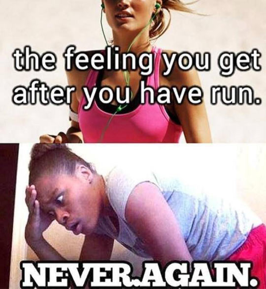 Running After A Year Of Laziness