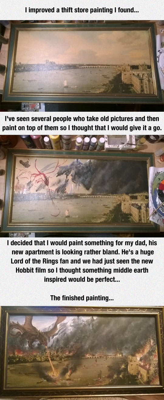 Best Way To Improve A Painting