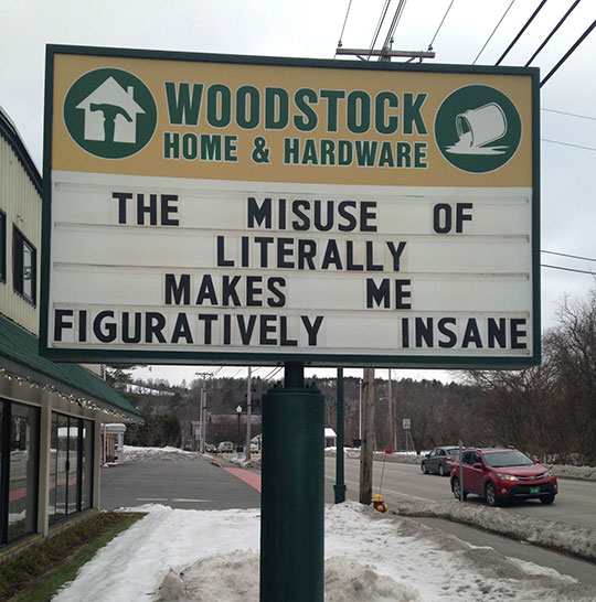Misuse Of The Word