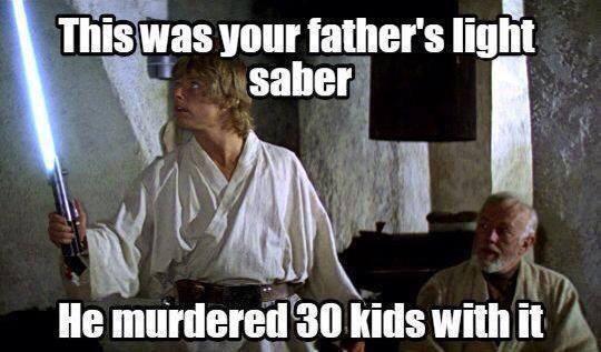 Obi Wan Tells It Like It Is