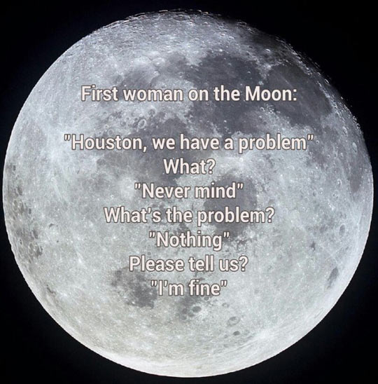 The First Woman On The Moon
