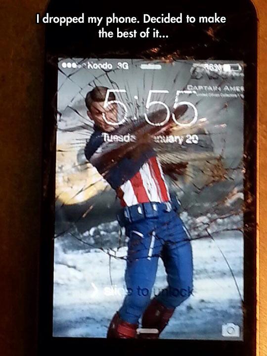cool-phone-broken-glass-Captain-America