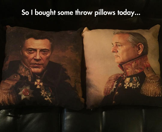 The Classiest Pillows Ever
