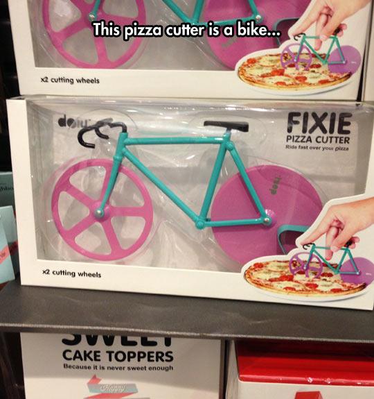 Cutting A Pizza Just Got A Lot Better