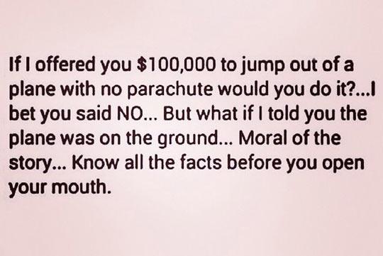 cool-plane-money-offer-jump-moral-teaching