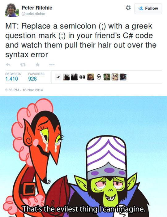 Programming Prank