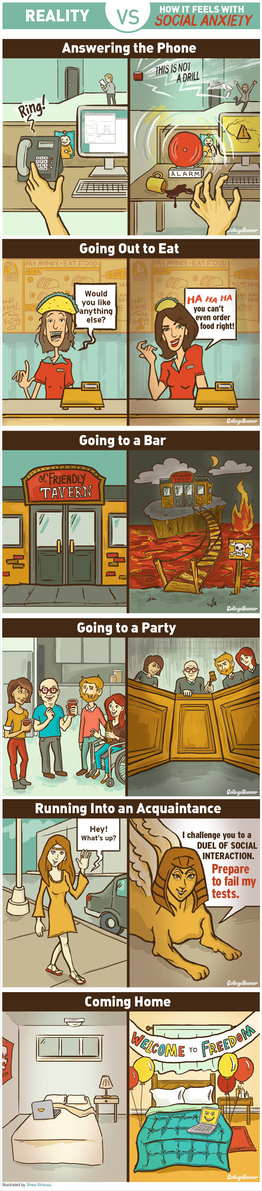 How It Feels With Social Anxiety