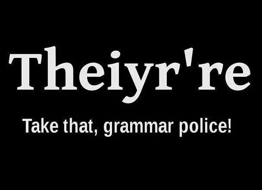 For All The Annoying Grammar People