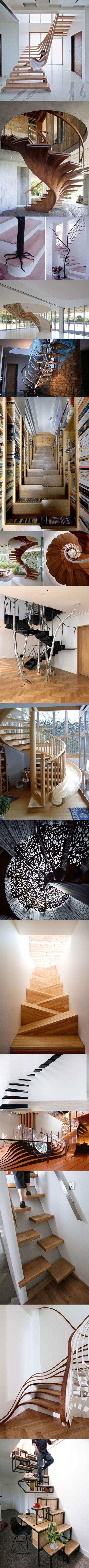 The Most Exotic Stairs Ever
