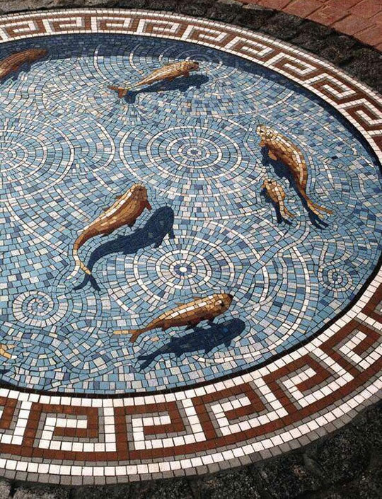 Magnificent Fish Mosaic
