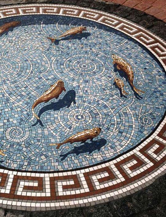 fish-water-mosaic-shadow