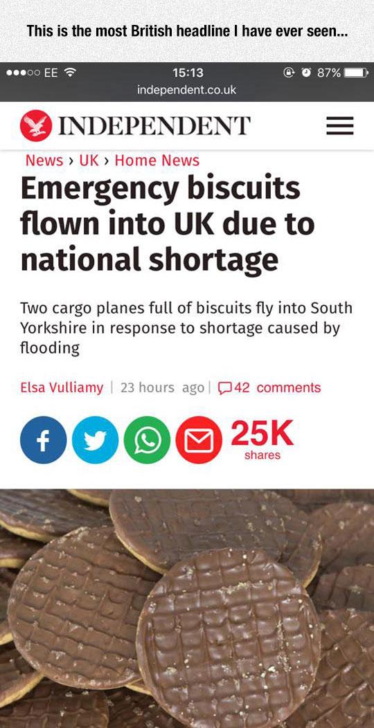 British Headline