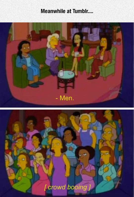 funny-Simpsons-talk-show-women