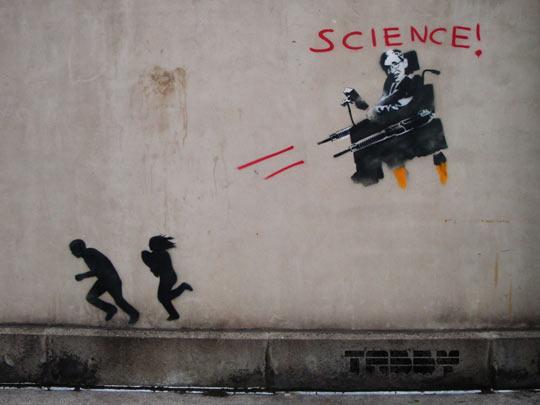 Some Stephen Hawking Street Art