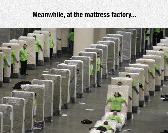 Mattress Factory Breaks