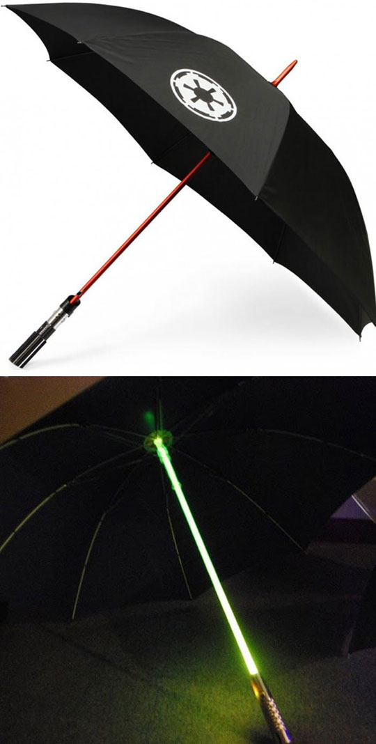 Magnificent Light Saber Umbrella