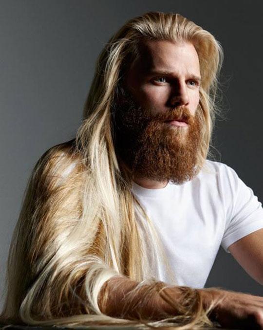 Danish Model Steffen Norgaard Has Fabulous Hair