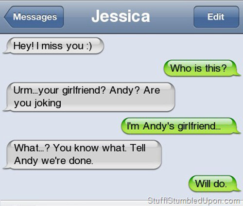 Funny ways to break up with your girlfriend