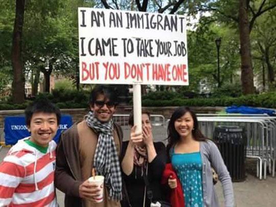 Beware Of The Immigrants