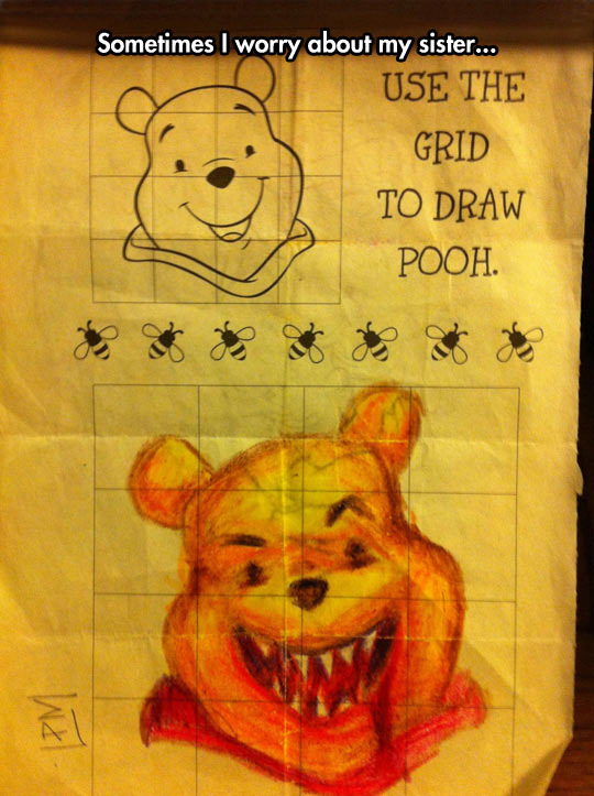 Drawing Pooh