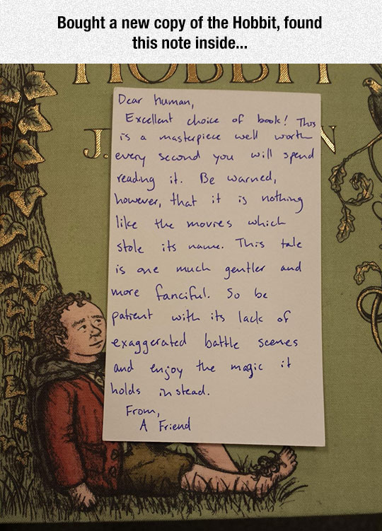 Hobbit-book-note-movies-review