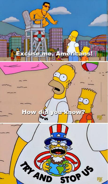 How I imagine every American