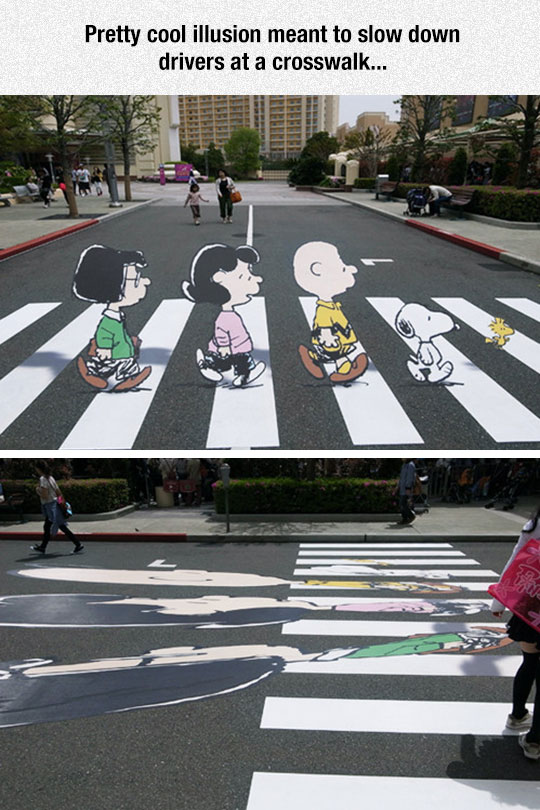Illusion To Make You Slow Down