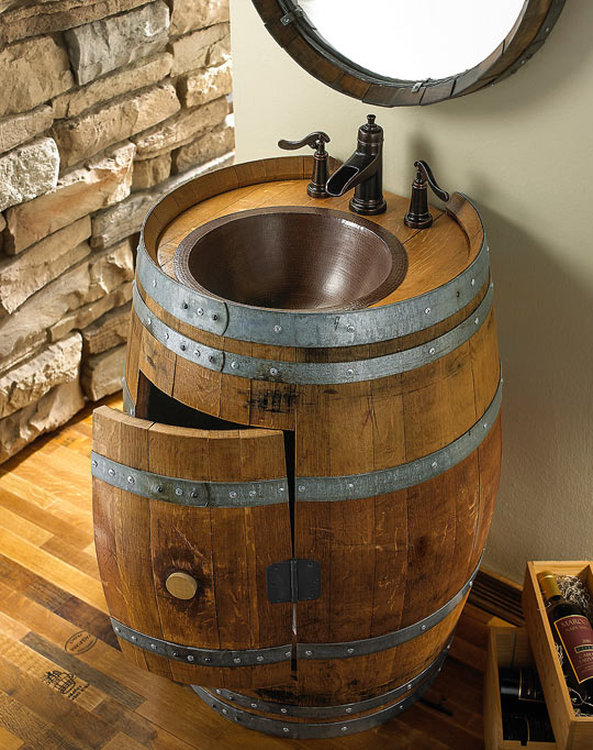 Made From A Very Old Wine Barrel