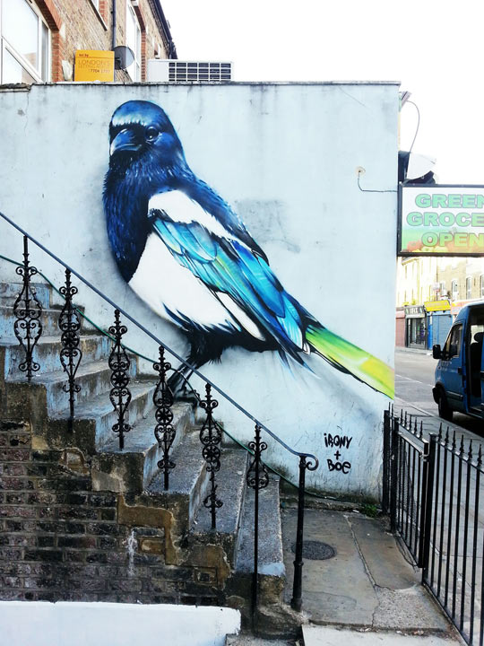 Magnificent Street Art In London