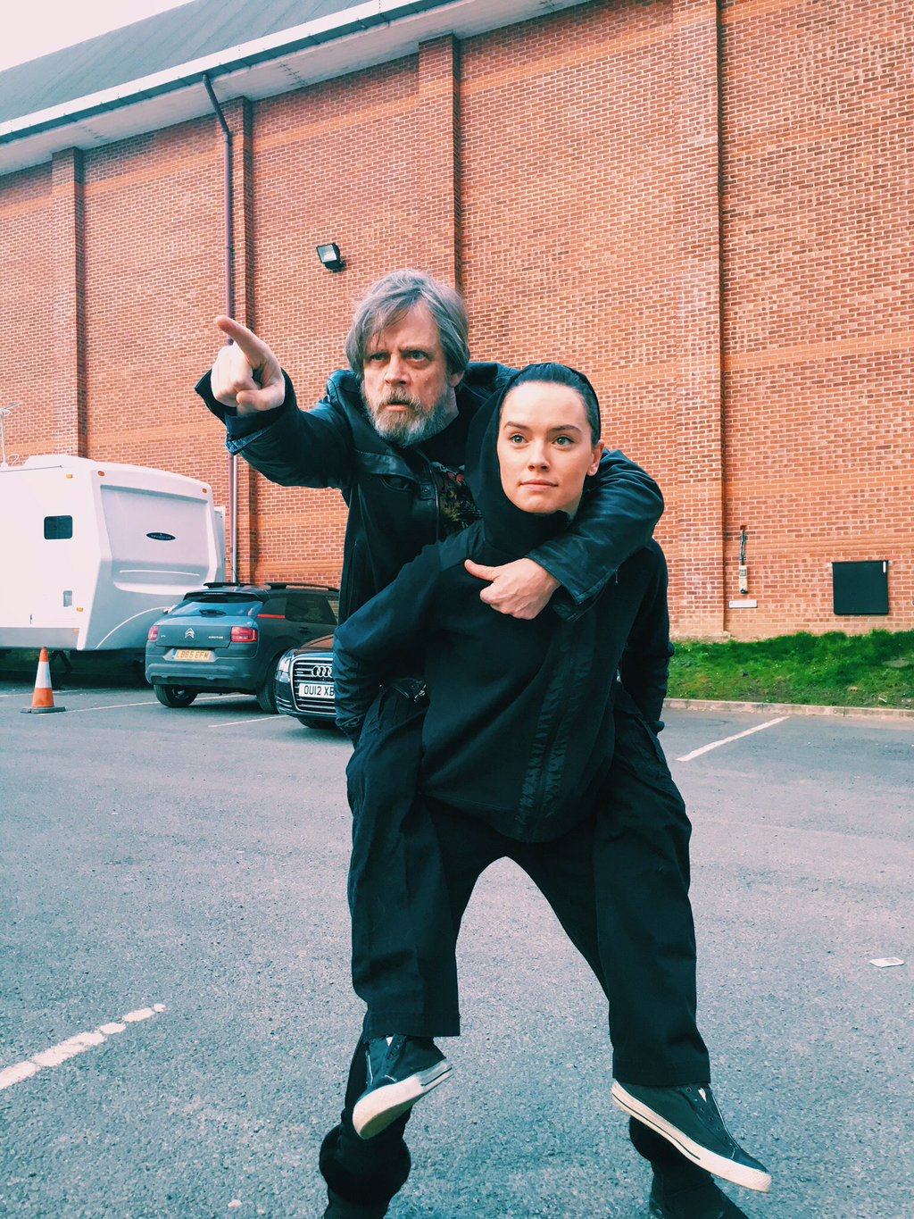 Mark Hamill just posted this on Twitter