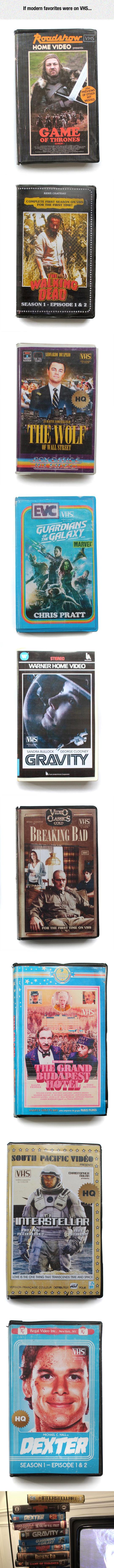 Modern Favorites On Epic VHS