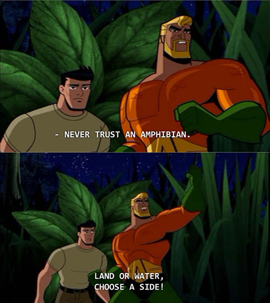 Aquaman Has Some Important Advice