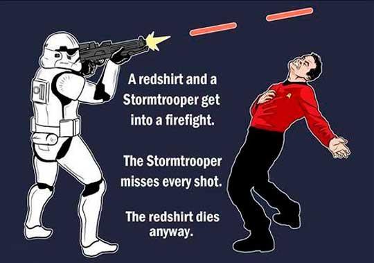 Star Wars Vs. Star Trek Encounter