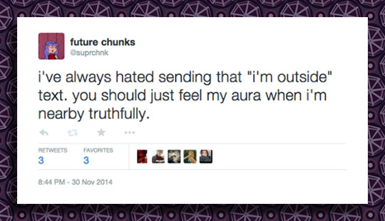 cool-Tweet-message-outside-aura