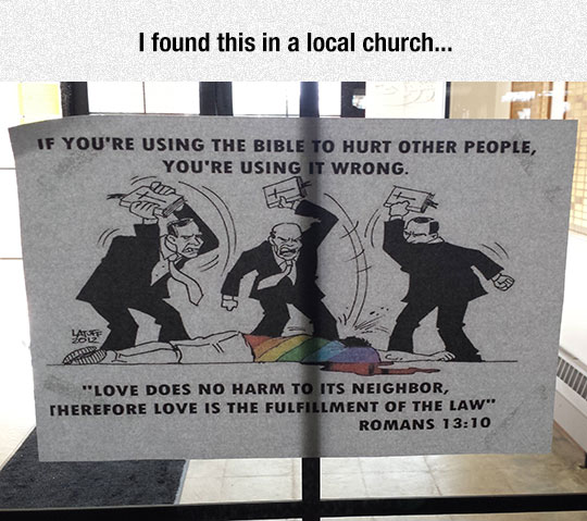 cool-bible-sign-Romas-quote-hurting-people