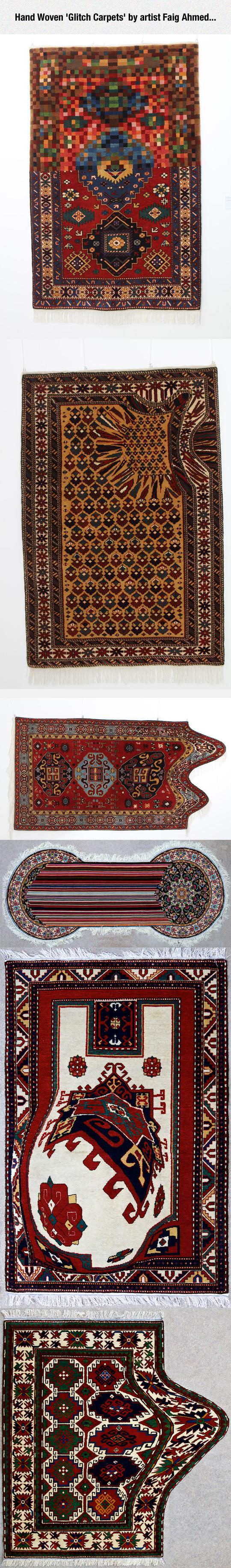 Glitch Carpets