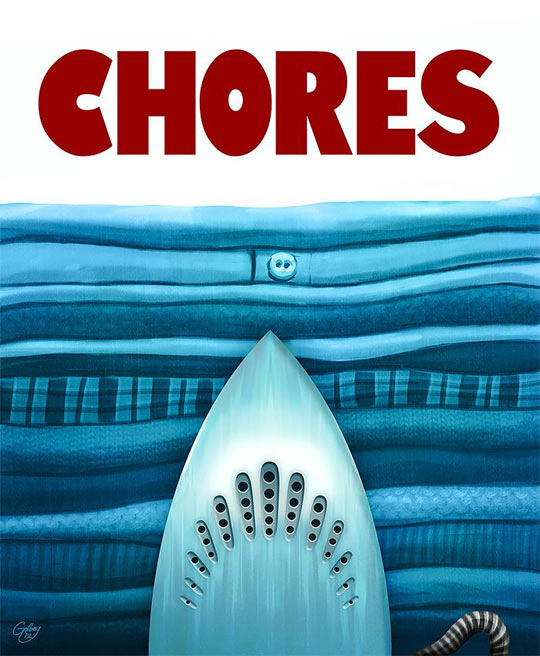 cool-iron-clothes-poster-movie-Jaws